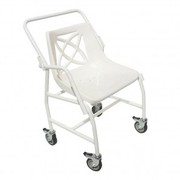 Mobile Shower Chair with Detachable Arms